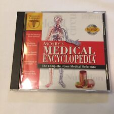 EUC MOSBY'S MEDICAL ENCYCLOPEDIA THE COMPLETE HOME MEDICAL REFERENCE CD ROM