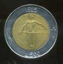 SAN MARIN  ITALY   500 lire 1985