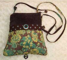 OLD BAGZZ Hand Crafted Brown Green  Patchwork Shoulder HandBag & Backpack Combo