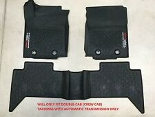 2016-2020 TOYOTA TACOMA TRD PRO ALL WEATHER/RUBBER FLOOR MAT AUTO TRANSMISSION