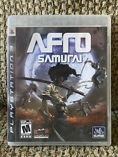 Afro Samurai (Sony PlayStation 3, 2009) PS3 - Complete CIB - Free Shipping