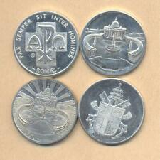 Vatican ,Italy Lot of 4 Different 35mm medals John-Paul II Pope