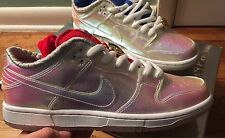 BRAND NEW NIKE SB HOLY GRAIL CONCEPT SZ 9 SKULL LACE LOCKS LOW MENS