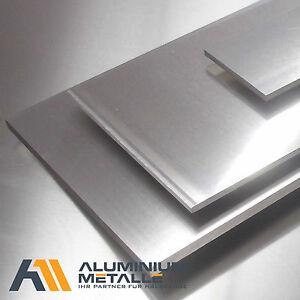 Aluminium Blech AlMg3 Zuschnitt Stärke 1-30mm Streifen Alublech Platte Alublende