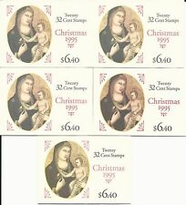 BK232***FIVE(5)***MADONNA AND CHILD NH XF @ FACE