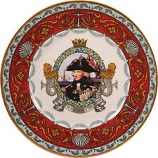 Lord Nelson Caverswall Commemorative Porcelain Plate