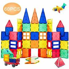 Magnetic Building Blocks Tiles Set Educational Stem Toys for Kids/Toddlers 60pcs