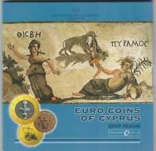 Cyprus BU set 2009 / 1 cent - 2 euro KMS : Mosaica of Paphos