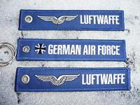 LUFTWAFFE  / German AIR FORCE / 3x Schlüsselanhänger YAKAiR NATO RAF Bundeswehr