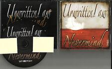 UNWRITTEN LAW Nevermind 2011  USA PROMO Radio DJ CD single MINT Never Mind