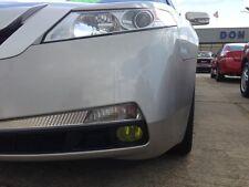 09-14 Acura TL Yellow Fog light JDM TINT PreCut Vinyl Film Overlays