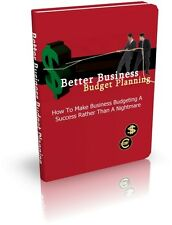 Learn Effective Business Budget Planning For Success - Start Business (CD-ROM)
