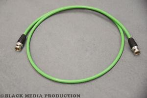 BNC HD-SDI Video Kabel SC-Vector 0.8/3.7 grün   Neutrik rearTWIST HD BNC *NEU*