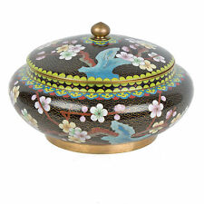 China 20. Jh. Deckeldose - A Chinese Cloisonne Enamel Bowl - Chinois Cinese