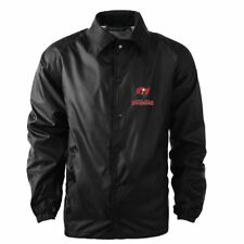 NFL Tampa Bay Buccaneers Men s Coaches Windbreaker Jacket Small  New with  ... cb5387861