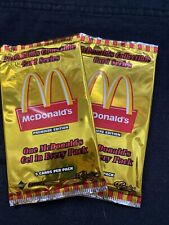Mcdonalds Collectible Card Series Sprint Classic Unopened Packs Lot Of 2 Packs