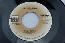 Cilla Black: I'll Take a Tango / To Know Him is to Love Him  [Unplayed Copy]