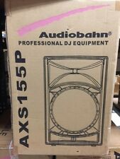 NEW AUDIOBAHN AXS155P PA 2700 WATT PRO DJ SPEAKER+STAND+MIC+REMOTE+PROFESSIONAL