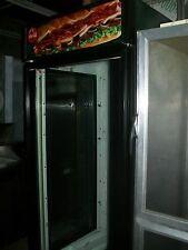 Cooler/Merchandiser, True,Glass Door And 2 Sides, 115V, 4 Shelves,Free Shipping