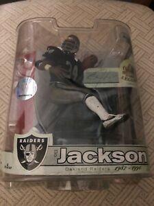 Bo Jackson Raiders McFarlane NFL Legends Series 3 New In Original Packaging