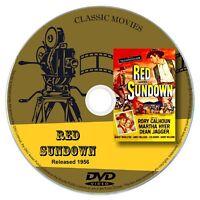 Red Sundown 1956 DVD Film Rory Calhoun, Martha Hyer -  Action Western