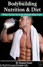 Bodybuilding Nutrition Diet Food Cook Muscle Fitness Shredded Book Health Weight