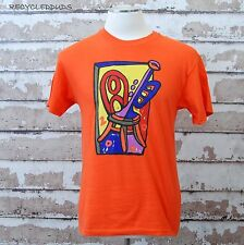 Monterey Jazz Festival 2000 T Shirt sz Medium M Orange Pat Metheny