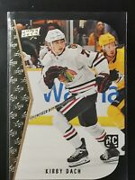 Kirby Dach SP Tribute DIE CUT - 2019-20 UD Upper Deck Series 2  RC Chicago