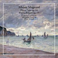 Magnard / Laurenceau - Piano Trio & Violin Sonata [New CD]