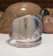 SPOON RING,SOLID SILVER RING. Vintage/Antique Ring. Art Nouveau. CHRISTMAS GIFT