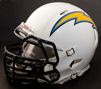 *CUSTOM* SAN DIEGO CHARGERS NFL Riddell SPEED Full Size Replica Football Helmet