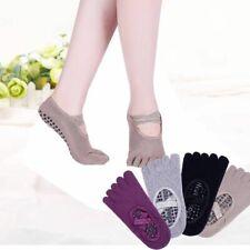 Women Yoga Socks Cycling Anti Slip Ventilation Sock Ballet Gym Quick-Dry Pilates