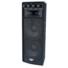 New Pyle PADH212  1600W Heavy Duty 7 Way Pa Loud-speaker Cabinet DJ Pro
