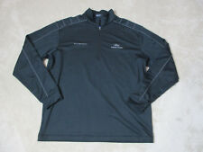 Nike Ford Fusion Racing Jacket Adult Extra Large Black Gray Quarter Zip Racer