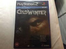 Cold Winter Playstation 2 neuwertig, Factory sealed item