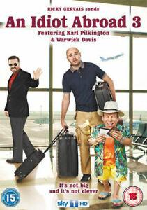 An Idiot Abroad - Series 3 PAL UK DVD Ricky Gervais K. Pilkington W. Davis