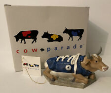 Cow Parade Converse Blue Sneaker MooShoe Retired, 2000 #9125 Nib with tags