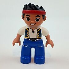 "Disney Jake And The Never Land Pirates Lego Duplo 2.75"" Tall Action Figure"