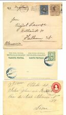 SOUTH AMERICA 1900/1914- 5 x - PS - COVER / CARD -F/VF