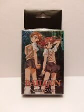 A Certain Scientific Railgun Playing Cards by Ge Licensed product New & Sealed