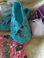Patrón de calzado Kimono & Kit de costura de tela & detallada que guía-Señoras Tamaño