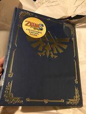 Legend of Zelda Phantom Hourglass Collector's Edition Hardcover Strategy Guide