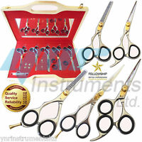 Professional Hairdressing Scissors Barber Set Gift Lefty Left Hand -YNR