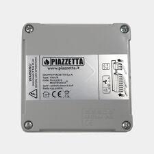 PIAZZETTA scatola radiocomando/centralina Multifuoco 2015 (telecomando 4 tasti)