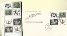 Canada 1980 Inuit Eskimo Artists Works Sc # 866-69, 2 P/B'S & 2 Pairs Mnh & Fdc