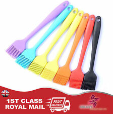 Colourful Silicone Pastry / Basting Brush - For Baking, Cooking & Glazing