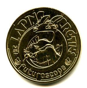 86 FUTUROSCOPE Lapins crétins, César, 2021, Monnaie de Paris