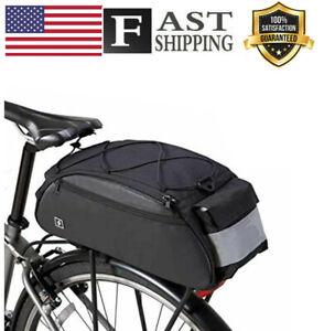 Sahoo Bike Rack Bag Bike Pannier Rear Rack Bike Bag Back Pack Bicyle Painner