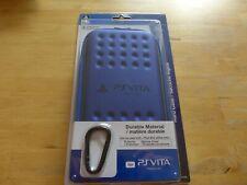 HORI Blue Hard Case for PlayStation Vita 1000 and 2000 Series SLEH-00222