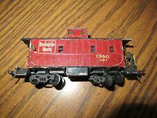 Vintage HO Scale Caboose CB&Q 1003